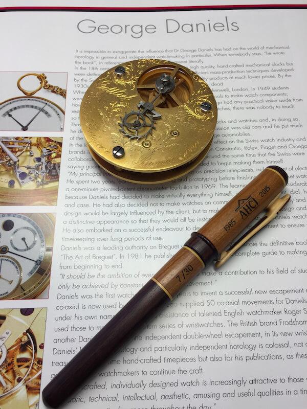 Wood pen AHCI 30th Anniversary Fund-Raiser - 7