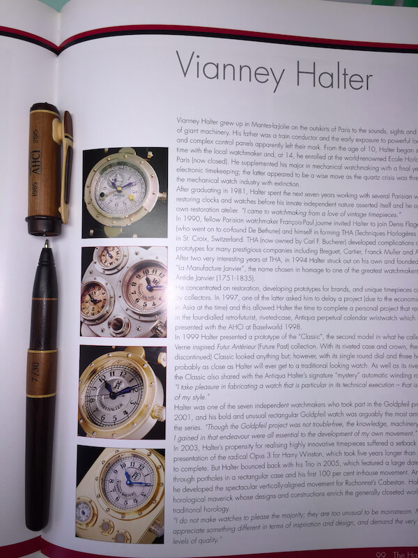 Wood pen AHCI 30th Anniversary Fund-Raiser - 8