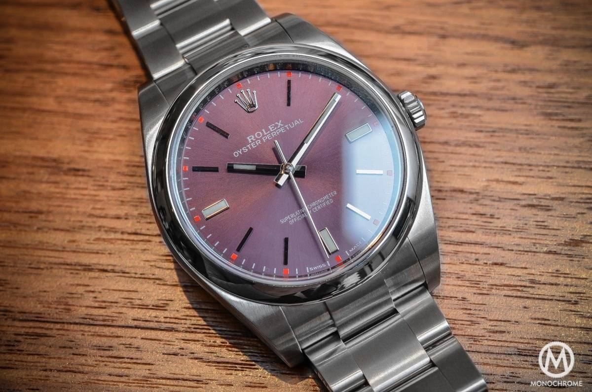 2015 Rolex Oyster Perpetual 39mm - 8