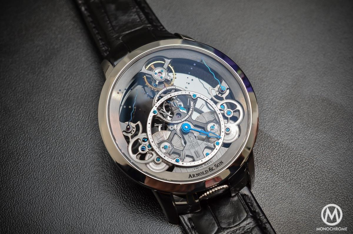 Arnold & Son Time Pyramid steel - 1