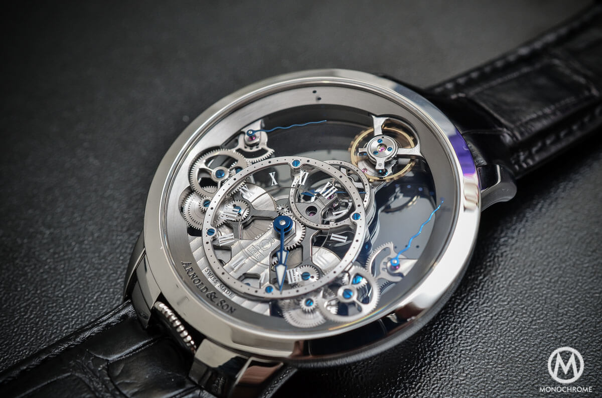 Arnold & Son Time Pyramid steel - 2