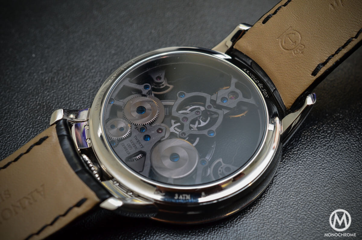 Arnold & Son Time Pyramid steel - 3