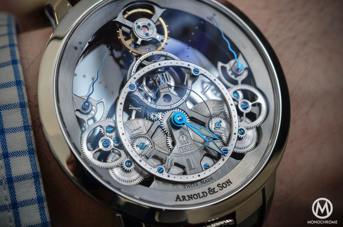 Arnold & Son Time Pyramid steel - 6