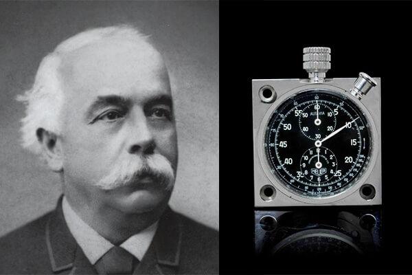 Edouard Heuer - Autavia dashboard stopwatch