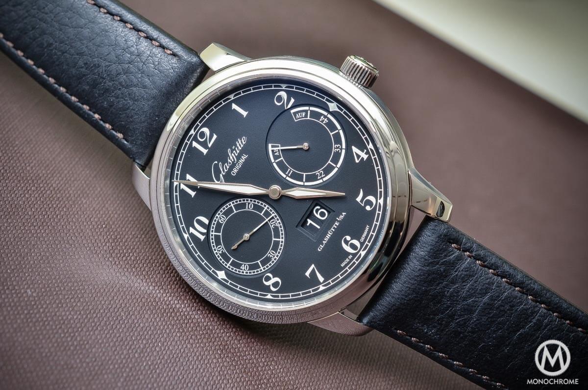 Glashutte Original Senator Observer Black dial Steel - 2