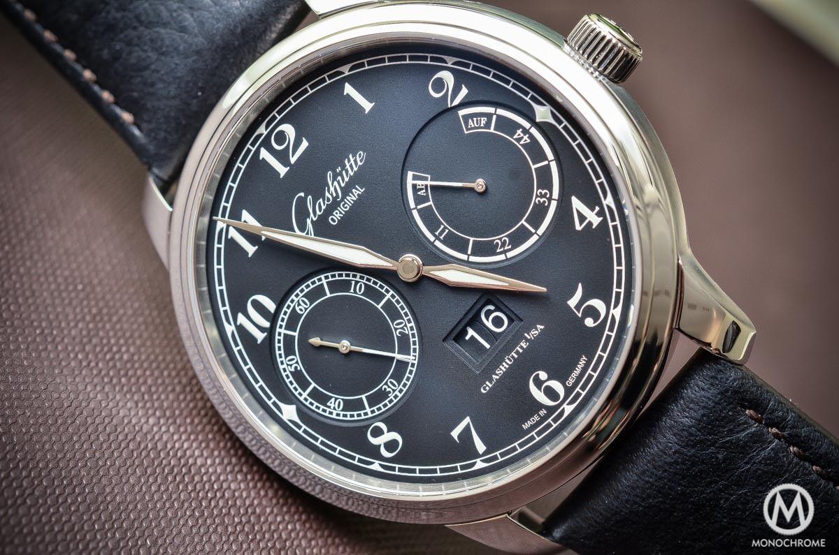Glashutte Original Senator Observer Black dial Steel - 3
