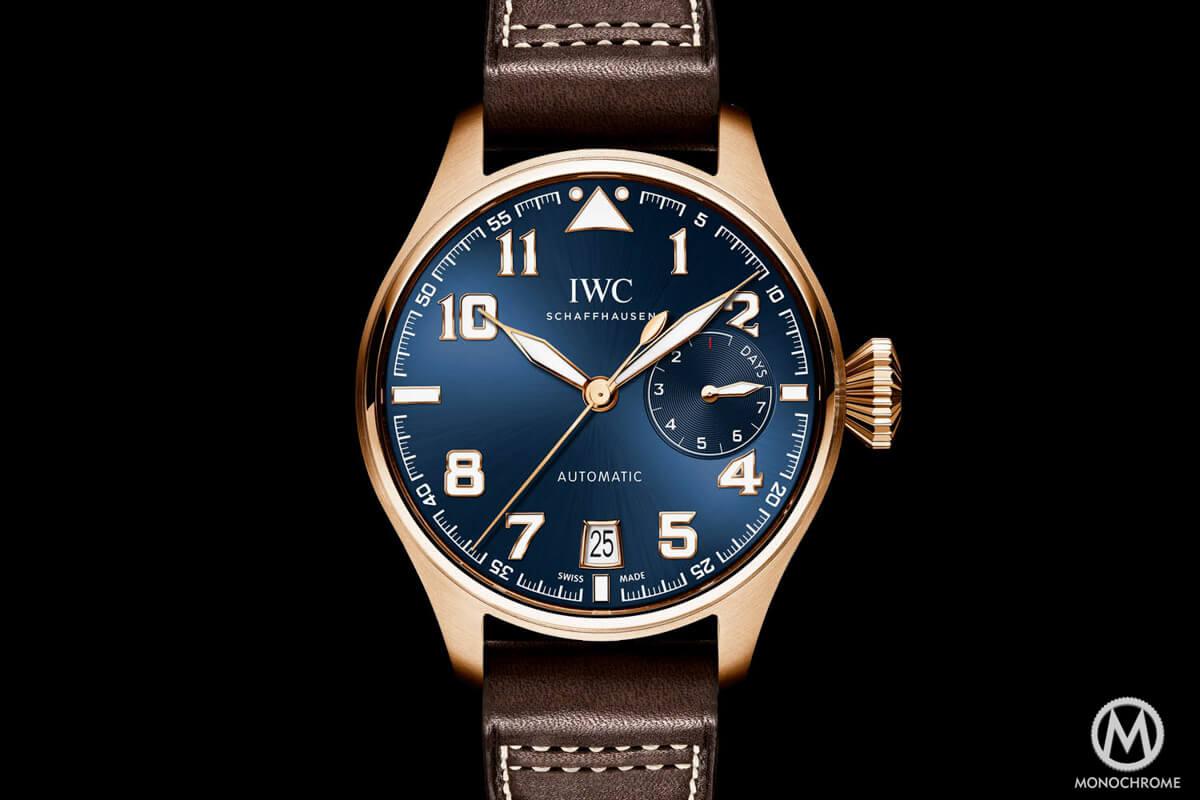 IWC Big Pilot Watch Edition Le Petit Prince Rose Gold