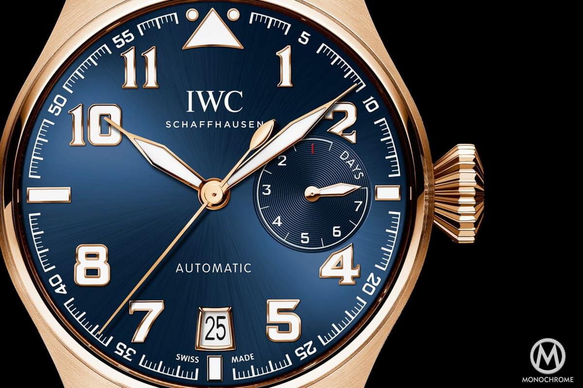 IWC Big Pilot Watch Edition Le Petit Prince Rose Gold