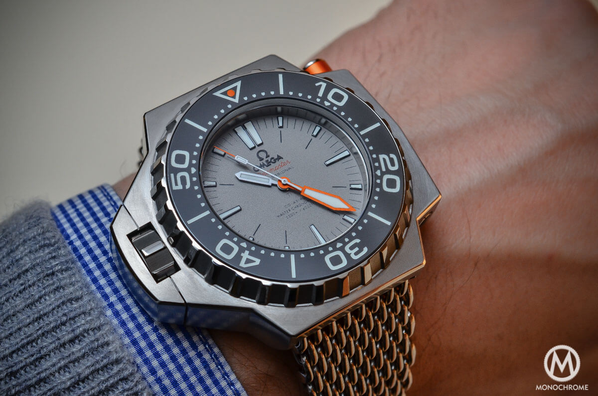 Omega Seamaster Ploprof 1200m Co-Axial Master Chronometer Titanium - 4