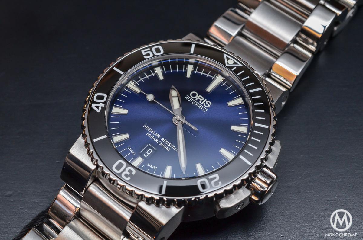Oris Aquis Date Gradient Blue - 4