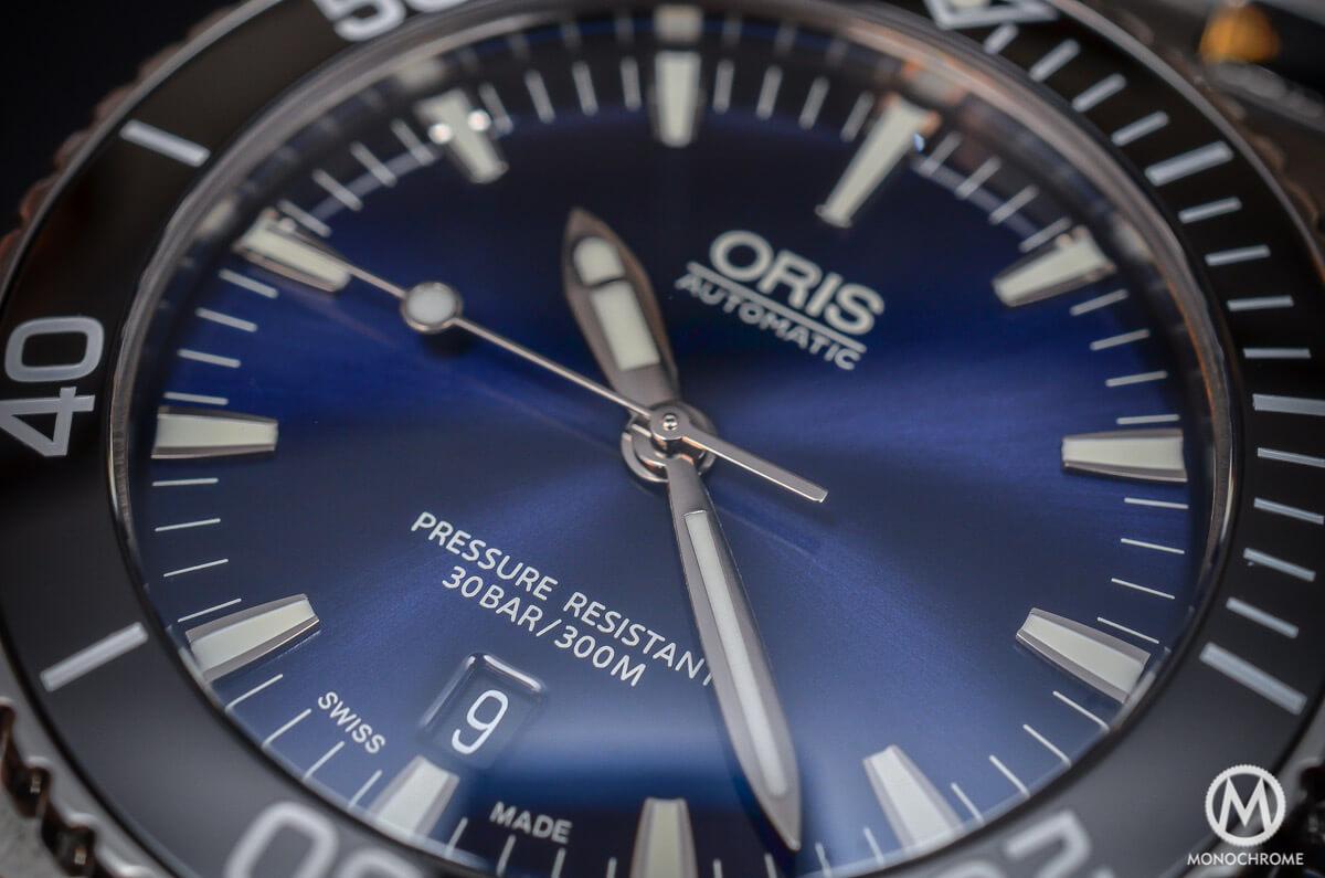 Oris Aquis Date Gradient Blue - 5