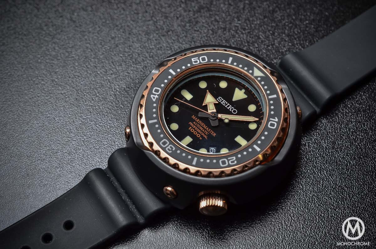Seiko Marinemaster 1000m Emperor Tuna Rose Gold SBDX014 - 1