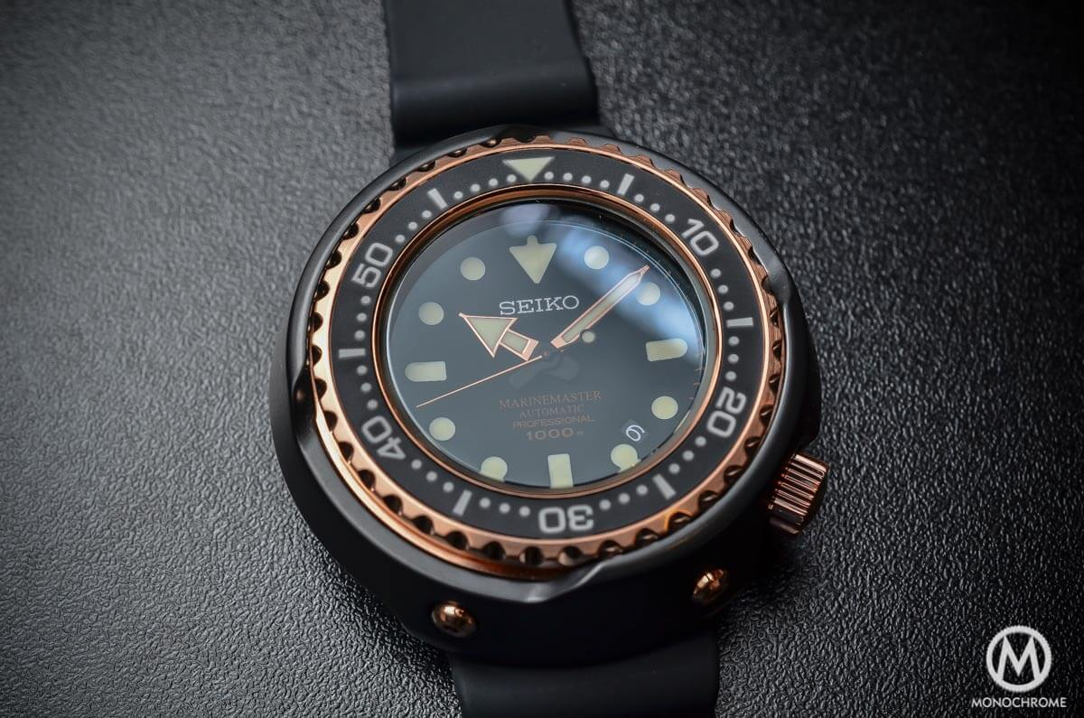 Seiko Marinemaster 1000m Emperor Tuna Rose Gold SBDX014 - 3