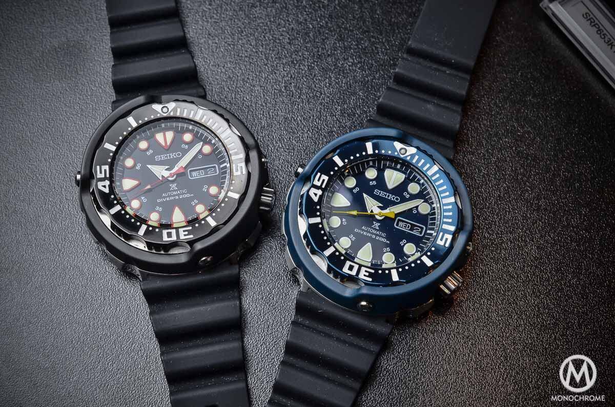 Seiko Prospex Automatic Diver 200m 'Baby Tuna' 4R36 (Black