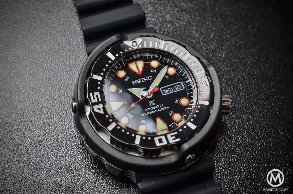 Seiko Prospex Automatic Diver 200m black SRP655K1 - 2
