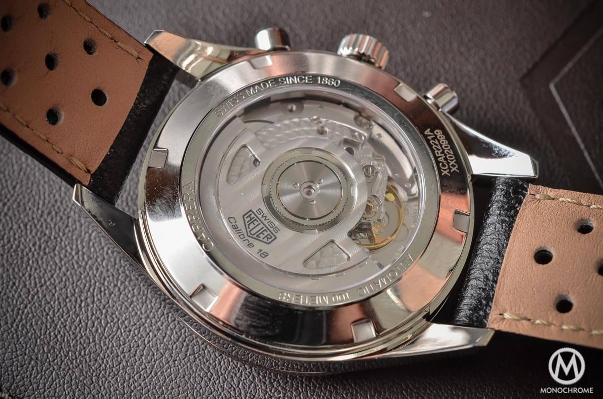 TAG Heuer Carrera Calibre 18 Chronograph Telemeter Baselworld 2015 - 2