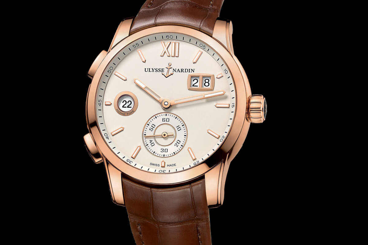 Ulysse Nardin Dual Time Manufacture 2015 - 1