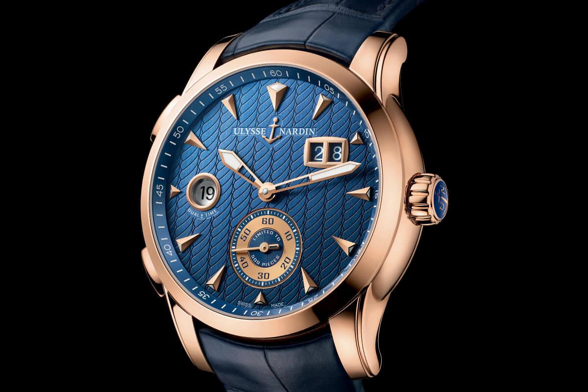 Ulysse Nardin Dual Time Manufacture 2015 - 5