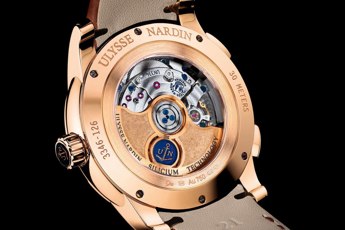 Ulysse Nardin Dual Time Manufacture 2015 - 6