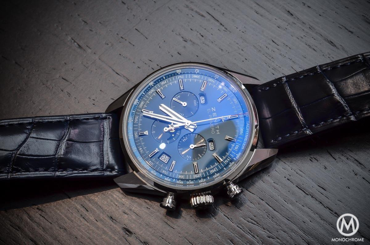 Zenith El Primero 410 Triple Calendar MoonPhase Blue - 1