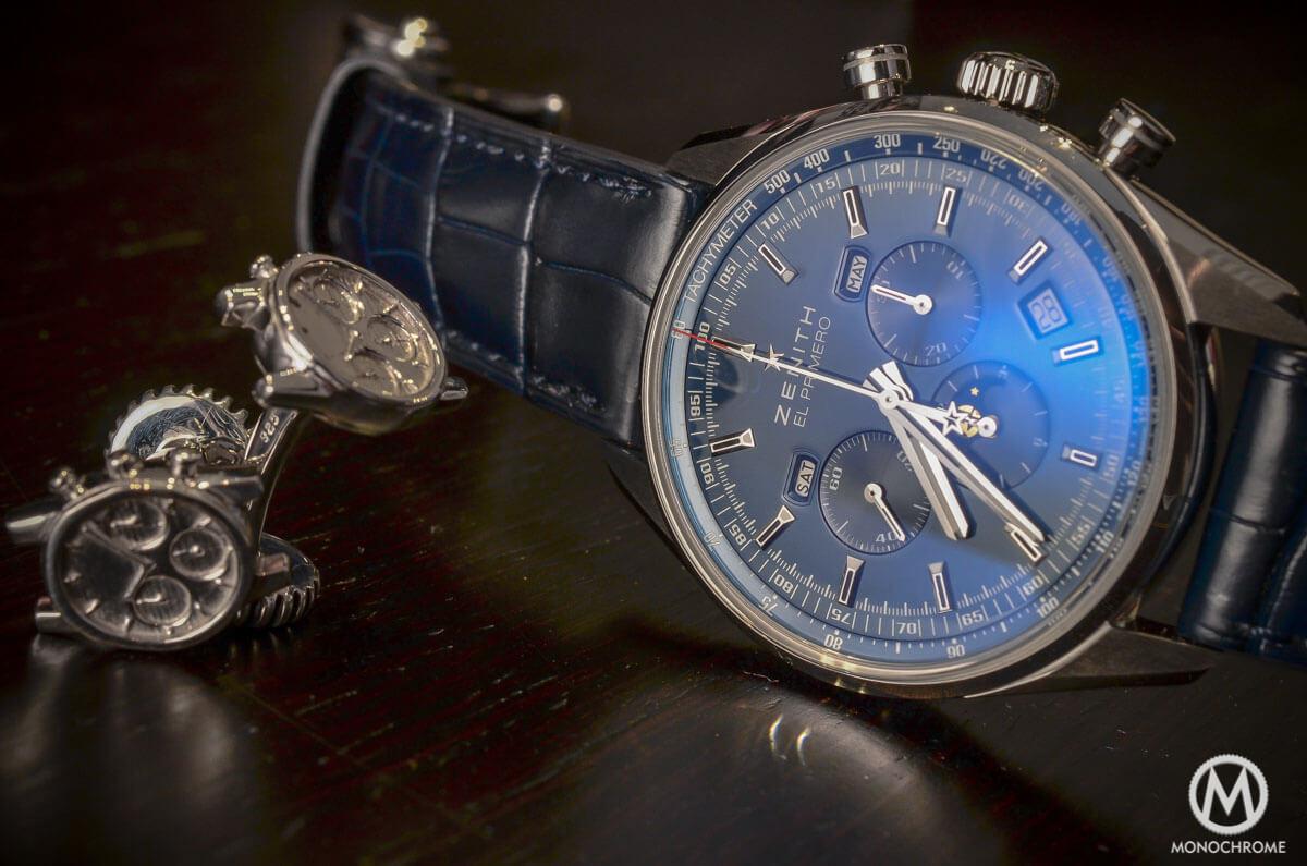 Zenith El Primero 410 Triple Calendar MoonPhase Blue - 2