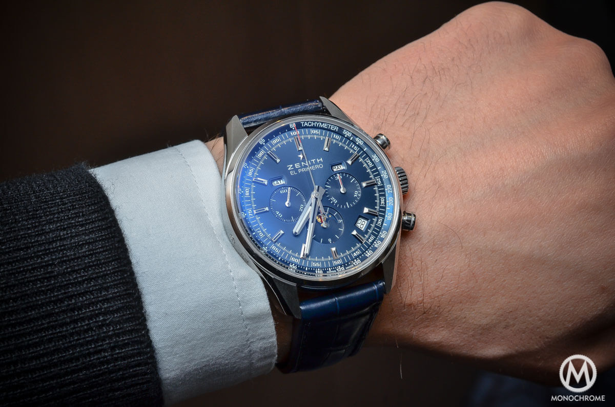 Zenith El Primero 410 Triple Calendar MoonPhase Blue - 7