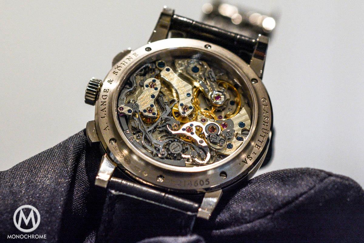 A Lange Soehne 1815 Chronograph