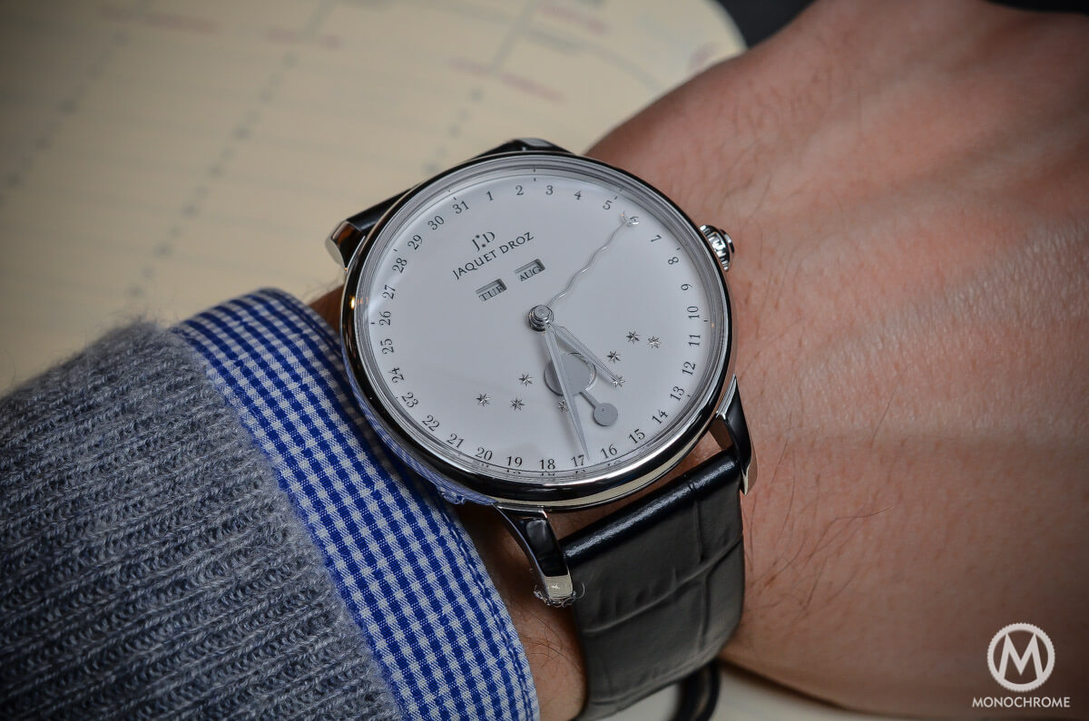 Jaquet Droz The Eclipse Silver Full Calendar Moon Phase - 6