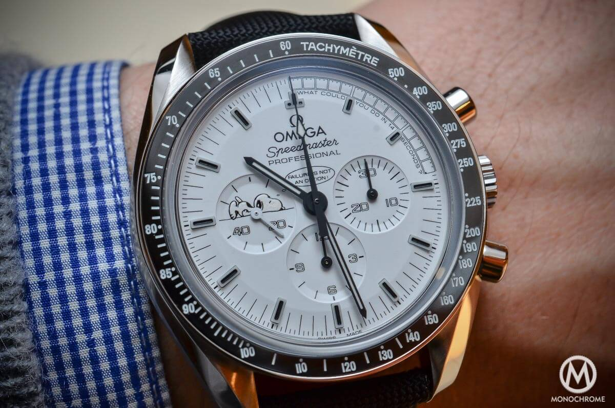 Omega Speedmaster Snoopy Award 2015 - 10