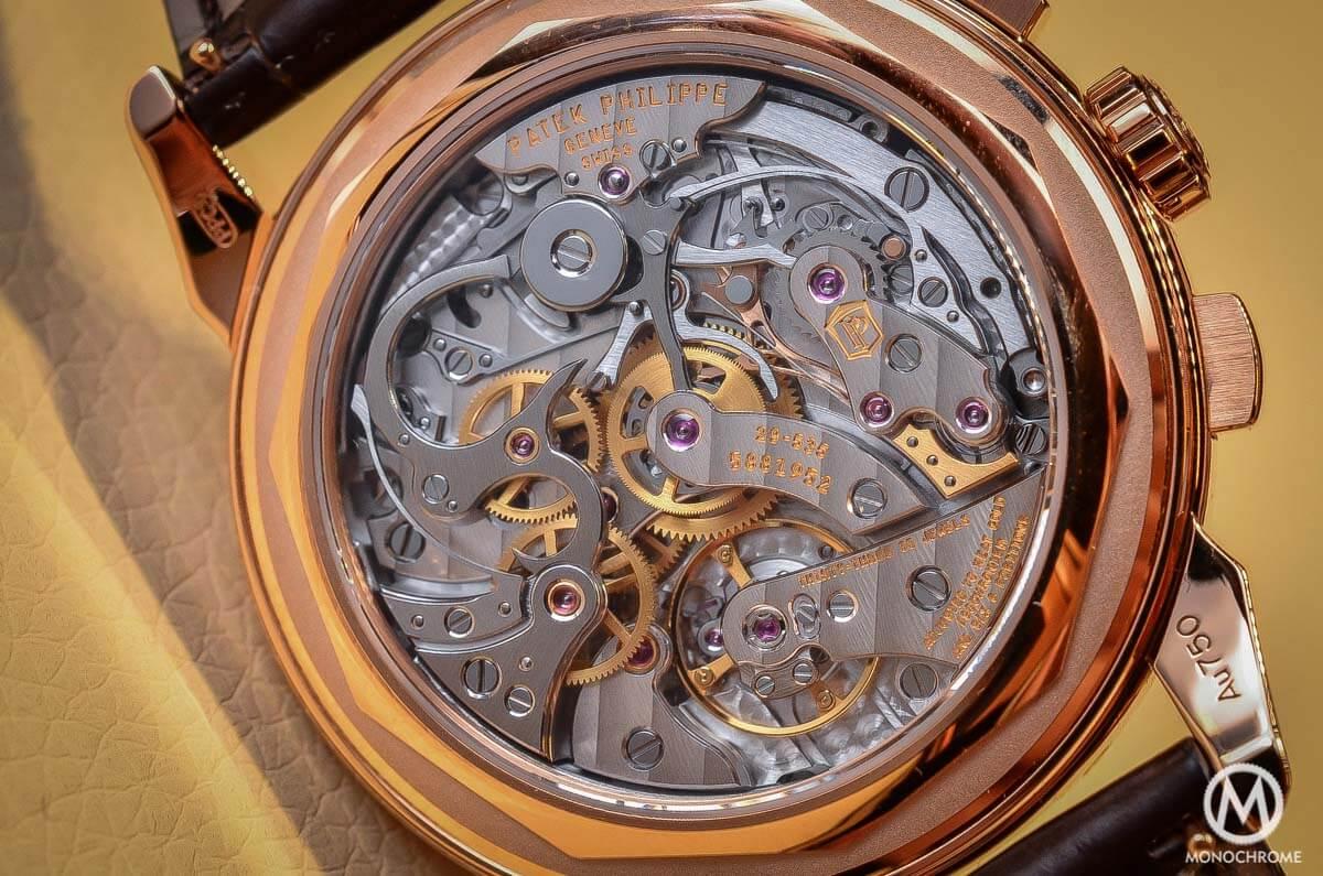 Patek Philippe 5270 Perpetual Calendar Chronograph Rose Gold 2015 no chin - 5