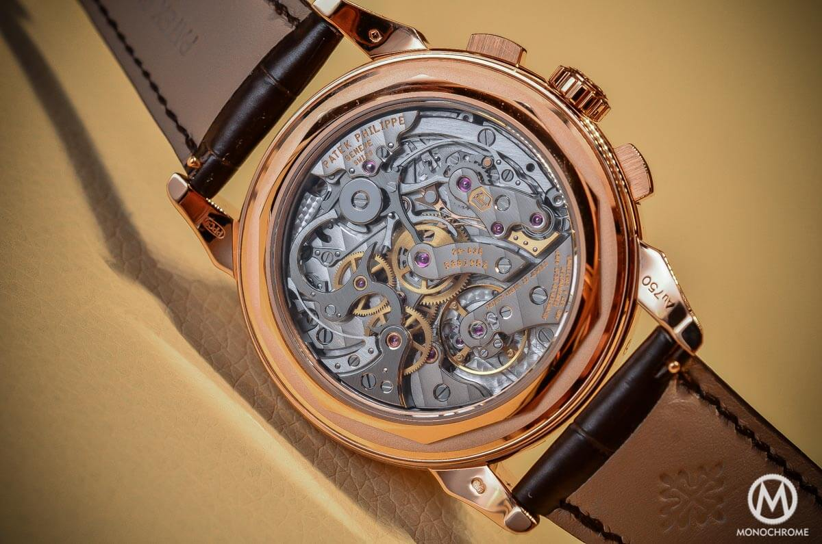 Patek Philippe 5270 Perpetual Calendar Chronograph Rose Gold 2015 no chin - 6