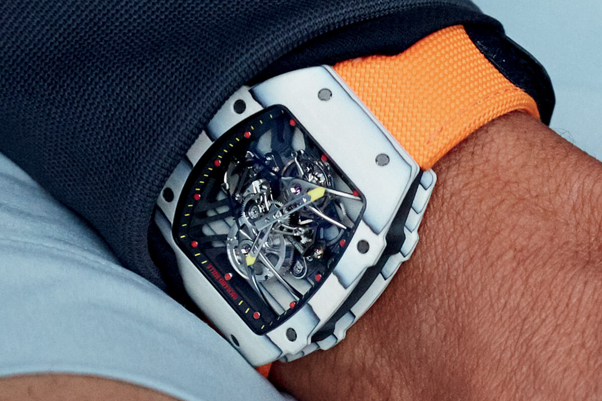 Richard Mille RM 27-02 Tourbillon Rafeal Nadal - 9