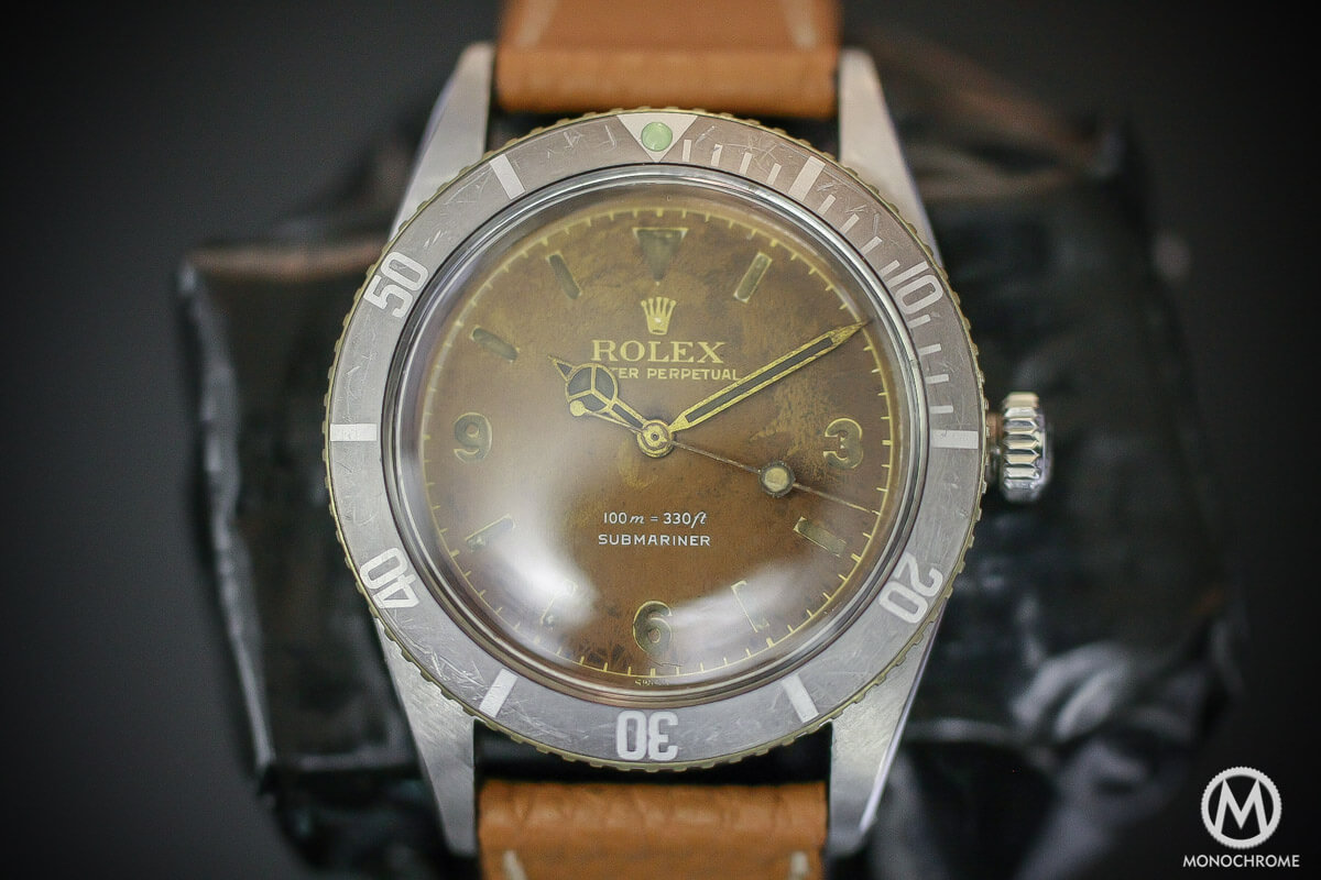 Rolex Submariner Ref. 6536 explorer dial ultra tropical - 4