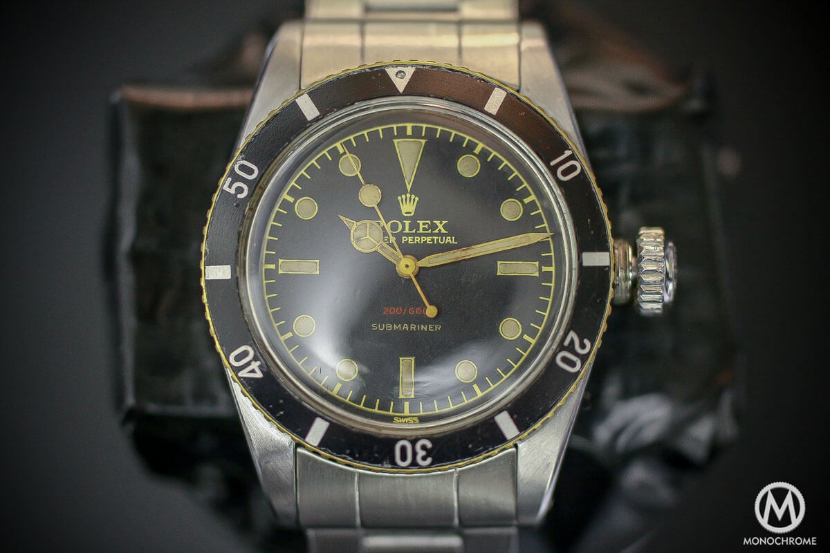 Cool Finds Ultra Rare Early Rolex Submariner Ref 6536 And Ref