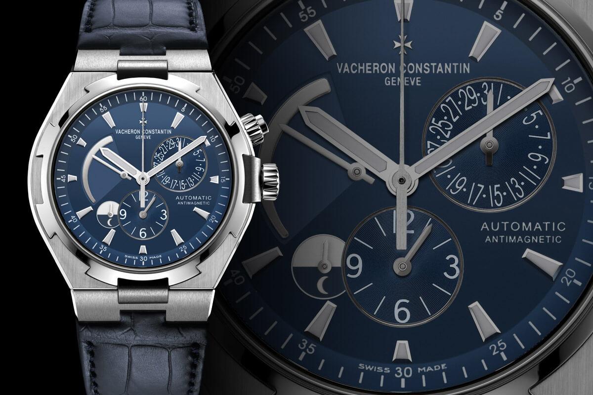 Vacheron Constantin Overseas Blue Dial Dual Time - 1