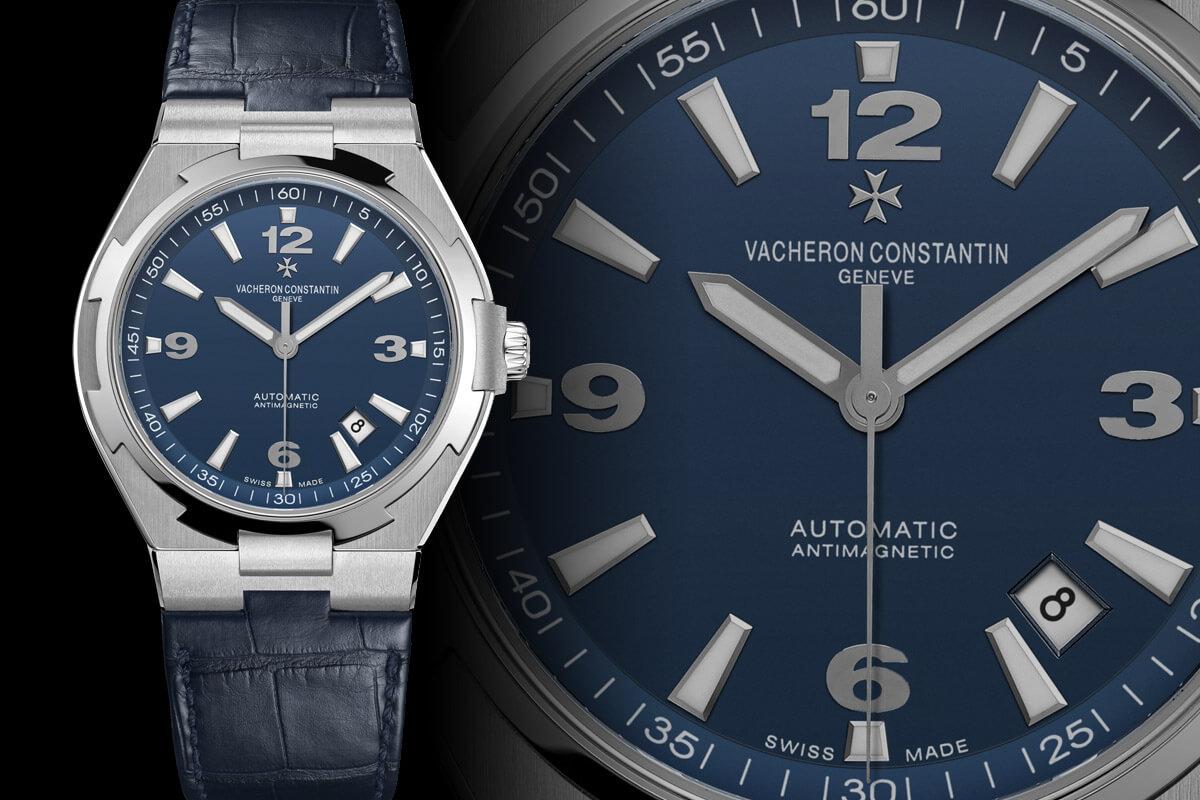 Vacheron Constantin Overseas Blue Dial Dual Time - 3