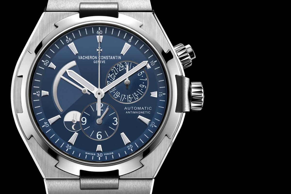 Vacheron Constantin Overseas Blue Dial Dual Time - 4