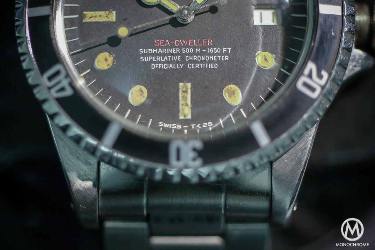 prototype Rolex Single Red Sea-Dweller Ref. 1665 - 500M-1650FT - 3