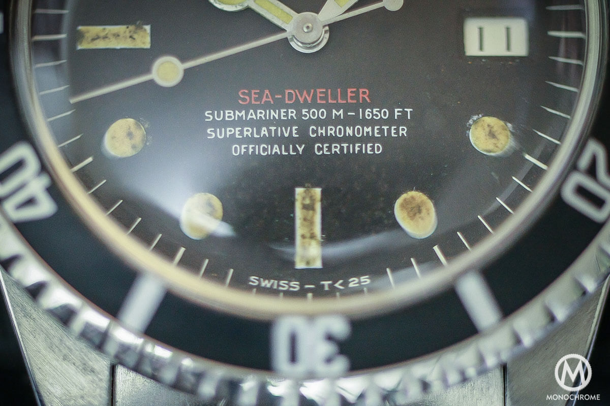 prototype Rolex Single Red Sea-Dweller Ref. 1665 - 500M-1650FT - 4