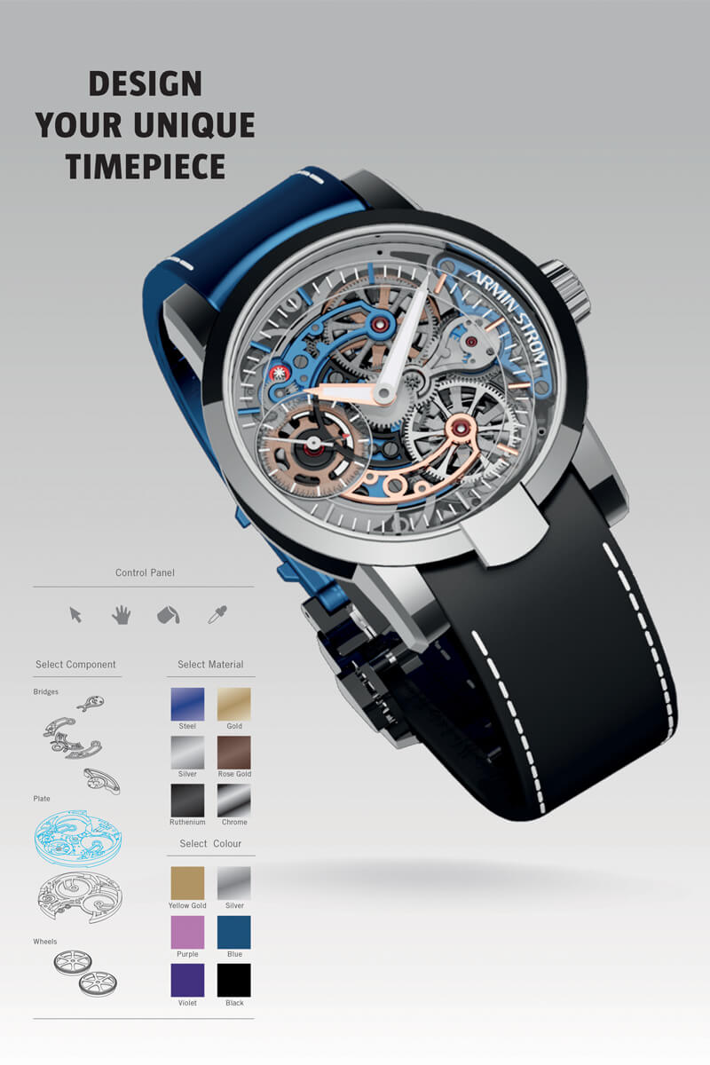 Armin Strom Skeleton Pure Customizable Gumball 3000 - 1