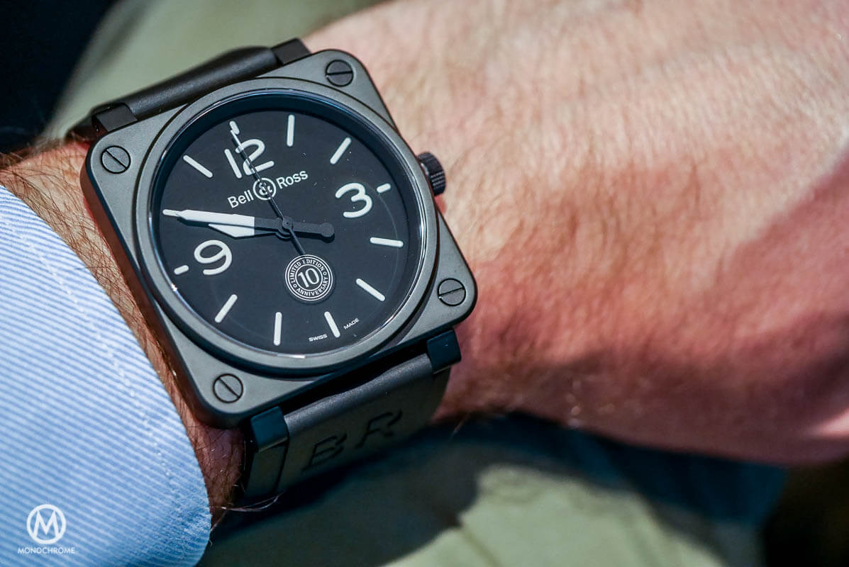 Bell & Ross BR01 1-th anniversary