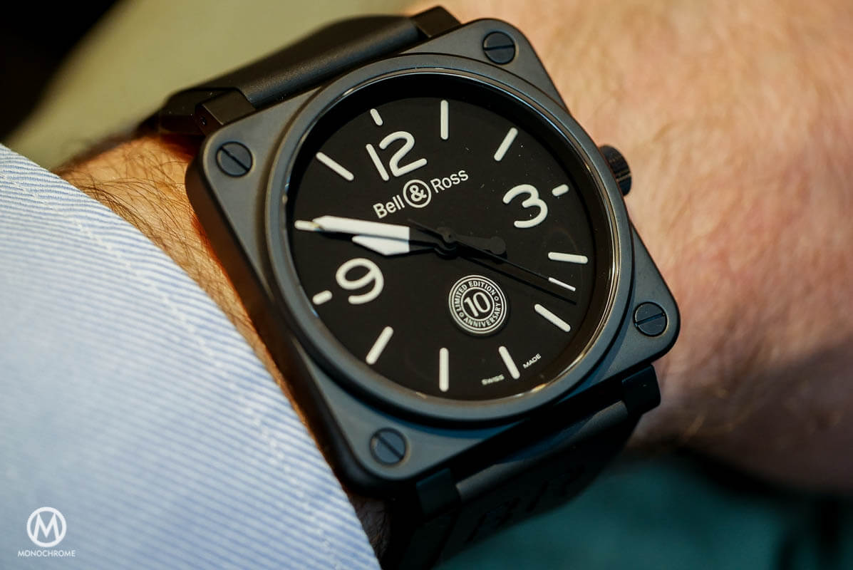 Bell And Ross Watches >> Bell Ross Celebrates 10 Years Of Br01 The Square Watch