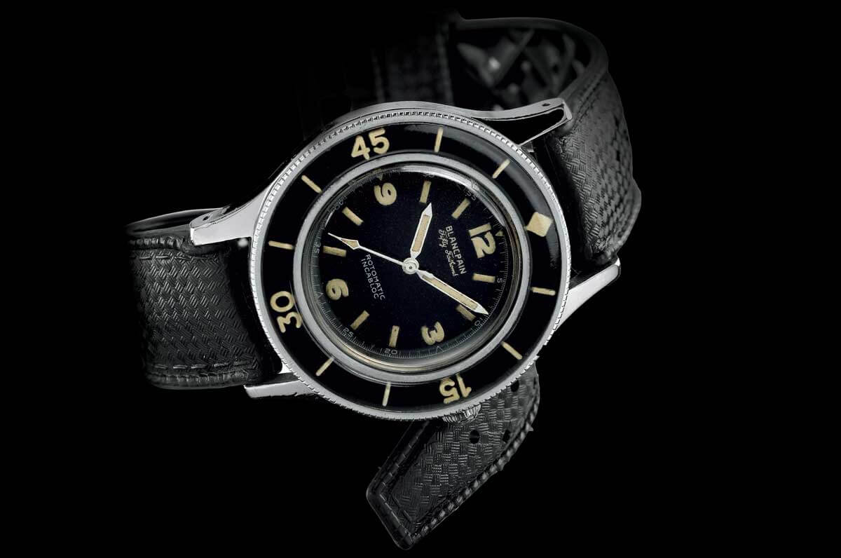 original Blancpain Fifty Fathoms from 1953