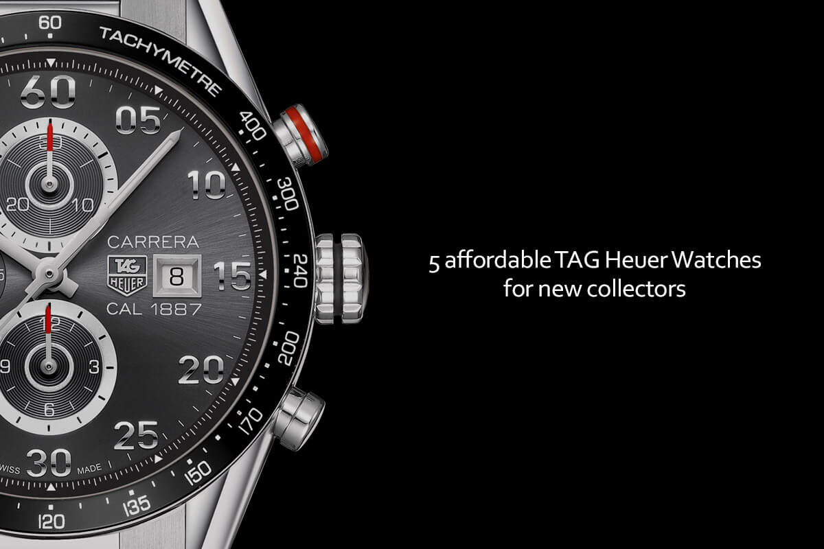 b4b02008ae5 Buying Guide: 5 Affordable TAG Heuer Watches for New Collectors – WatchTime  Wednesday