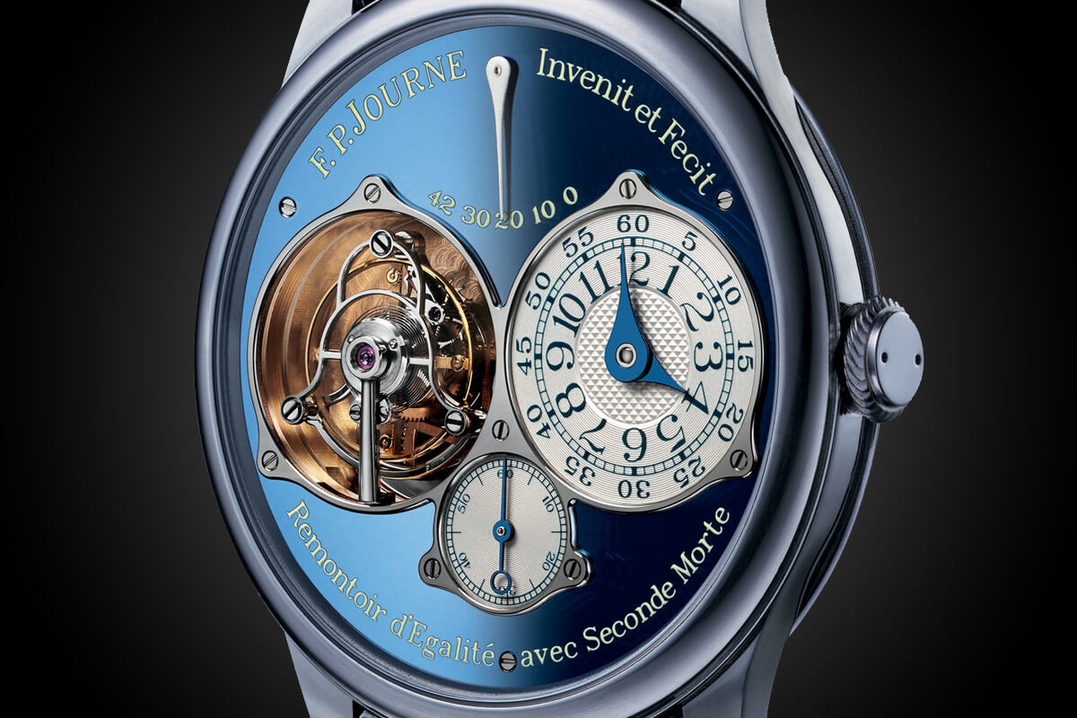 FP Journe Tourbillon Souverain Blue tantalum Only Watch 2015 - 2