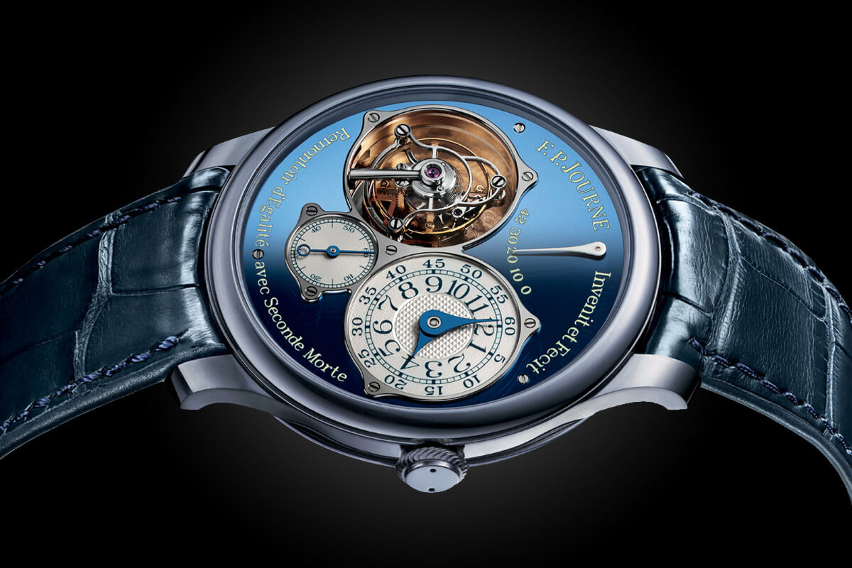FP Journe Tourbillon Souverain Blue tantalum Only Watch 2015 - 3