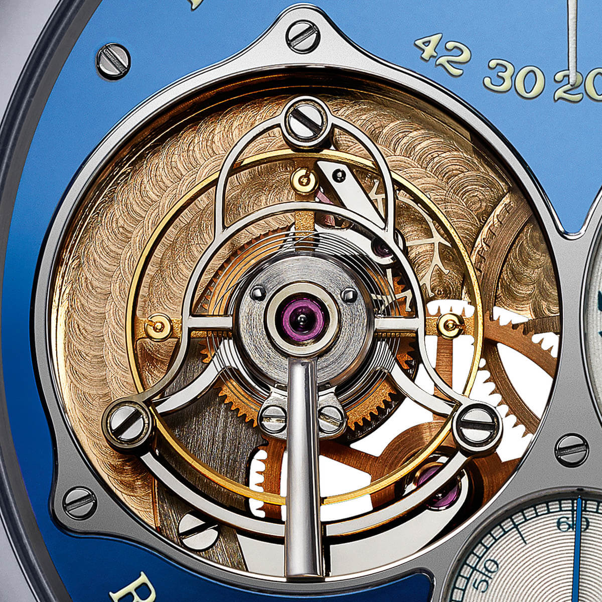 FP Journe Tourbillon Souverain Blue tantalum Only Watch 2015 - 4