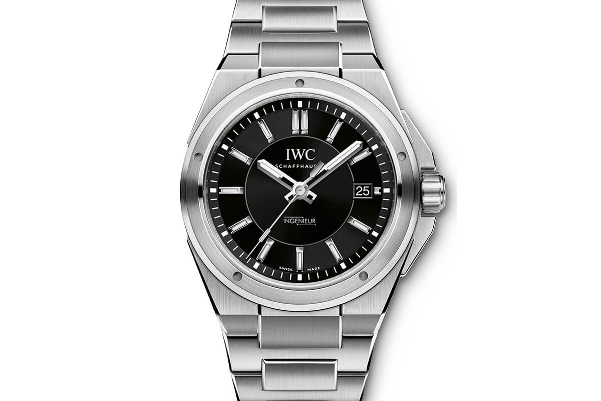 IWC Ingenieur Automatic Black dial