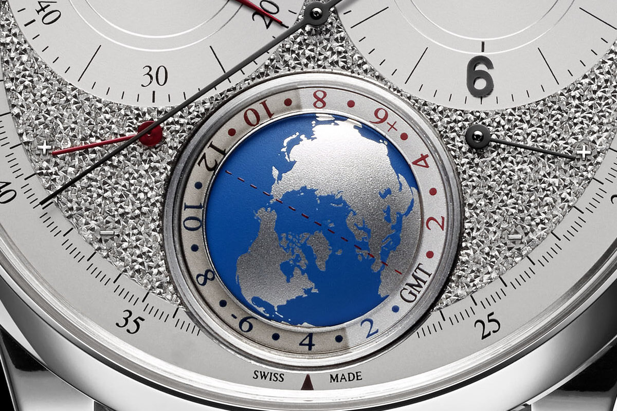 Jaeger-LeCoultre Duometre Unique Travel Time hand-engraved dial - 1