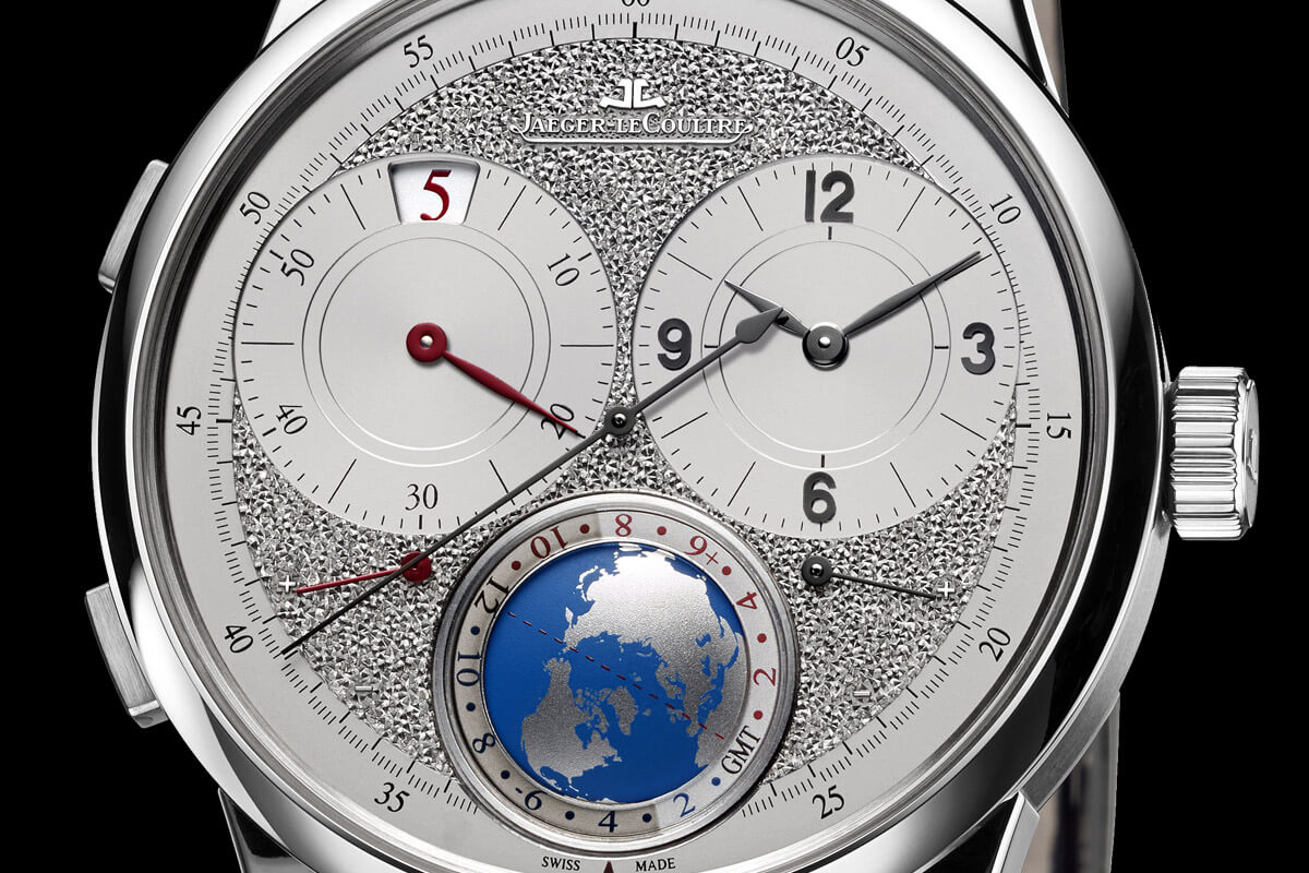 Jaeger-LeCoultre Duometre Unique Travel Time hand-engraved dial - 2